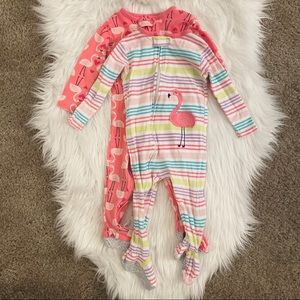 Carter's Girl Footed PJs